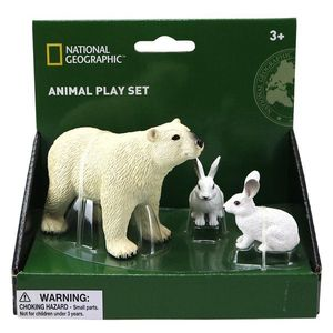 Set 3 figurine - Urs si iepure polar imagine