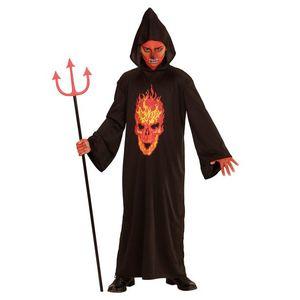 Costum schelet roba neagra imagine