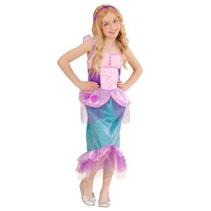 Costum sirena fetita imagine