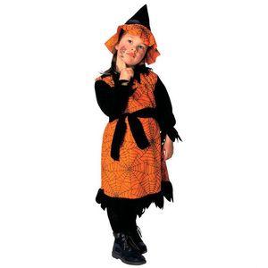 Costum Vrajitoare Copii Halloween 3 - 4 ani / 110 cm imagine