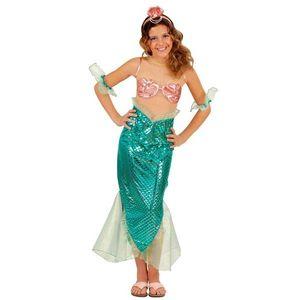 Costum Sirena 5 - 7 ani / 128 cm imagine