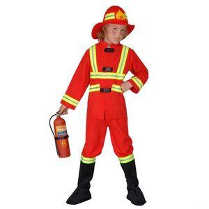 Costum Pompier 8 - 10 ani / 140 cm imagine