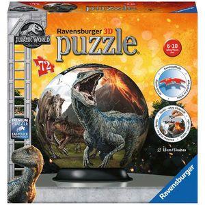 PUZZLE 3D JURASSIC WORLD, 72 PIESE imagine