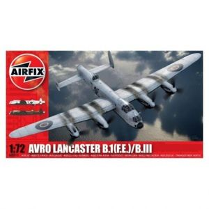 Kit aeromodele Airfix 8013 Avion Avro Lancaster BI(F.E.)/BIII Scara 1: 72 imagine