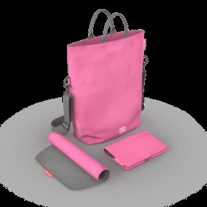 Geanta pentru scutece Pink imagine