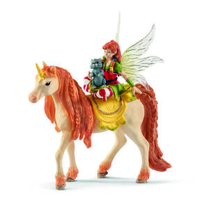 Figurina Schleich - Marween cu Unicorn sclipitor - SL70567 imagine