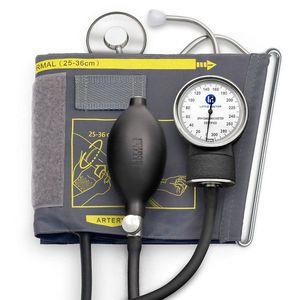 Tensiometru mecanic Little Doctor LD 71A, profesional, stetoscop atasat, manometru din metal imagine