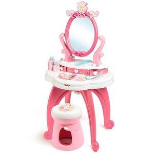 Jucarie Smoby Masuta de machiaj Disney Princess 2 in 1 cu accesorii imagine