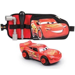 Jucarie Smoby Centura Cars 3 cu unelte si masinuta McQueen imagine