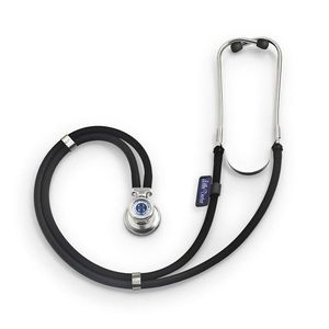 Stetoscop Little Doctor LD Special, 2 tuburi, lungime tub 56cm, Negru/Inox imagine