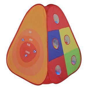 Cort de joaca cu 30 bile Bullseye imagine