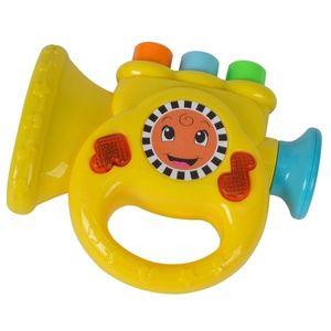 Jucarie muzicala Simba ABC Trompeta galben imagine