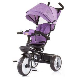 Tricicleta Chipolino Tempo purple linen imagine
