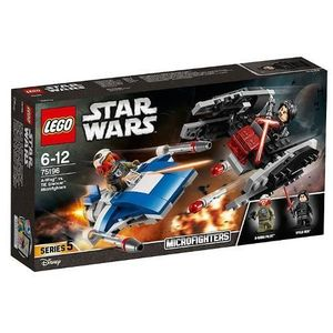 LEGO Star Wars A-Wing contra TIE Silencer Microfighters 75196 imagine