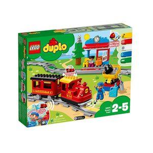 LEGO Duplo - Tren cu aburi Lego (10874) imagine