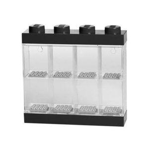 Cutie neagra pentru 8 minifigurine LEGO (40650003) imagine