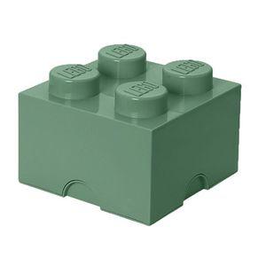 Cutie depozitare LEGO 2X2 verde nisip (40031747) imagine