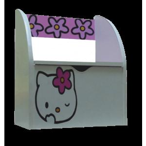 Bancuta pentru fetite cu lada de depozitare Kitty imagine