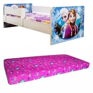 Promo pat junior Frozen cu saltea imagine
