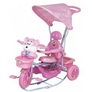 Tricicleta Eurobaby 2830ac - Roz imagine