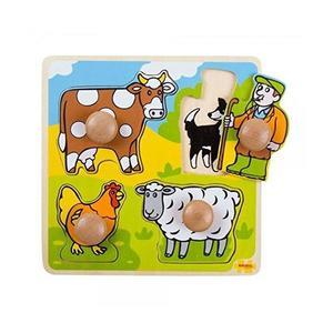 4 Puzzle: Animale Domestice imagine