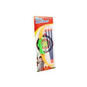 Arc cu sageti Globo pentru copii cu tinta imagine