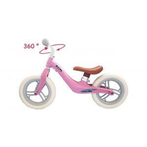 Bicicleta fara pedale 12 inch Roz imagine