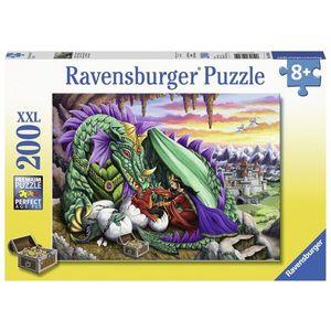 Puzzle Regina Dragonilor, 200 Piese imagine