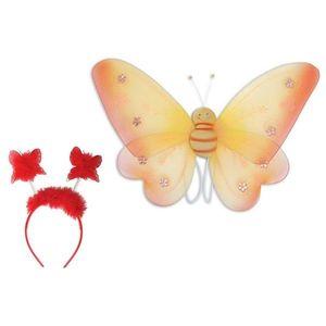 Set Accesorii Fluturas Rosu imagine