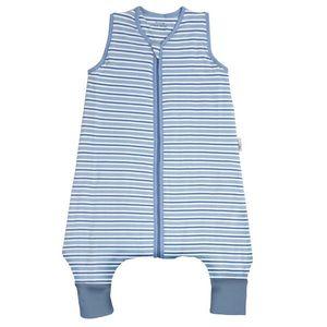 Sac De Dormit Cu Picioruse Blue Stripes imagine