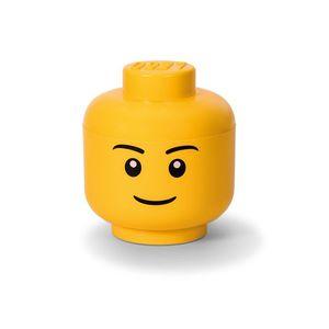 Cutie depozitare L cap minifigurina LEGO baiat (40321724) imagine