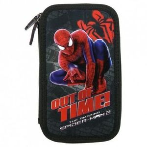 Penar scoala echipat dublu(2 compartimente) Baieti Out of Time Spiderman imagine