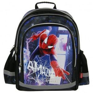 Ghiozdan scoala copii Baieti The Amazing SPIDERMAN 39 cm imagine