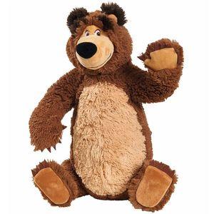 Jucarie de plus Simba Masha and the Bear, Bean Bag Bear 43 cm imagine