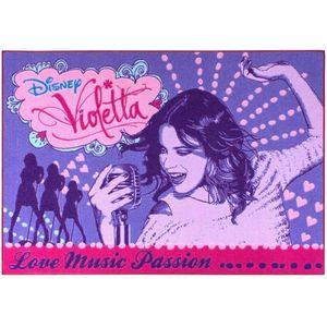 Covor camera copii Disney Violetta 95x133 cm Antiderapant imagine