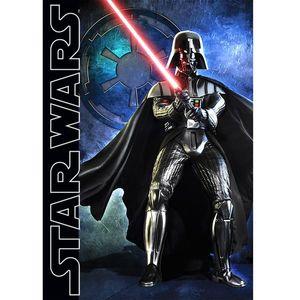 Covor camera copii Darth Wader Star Wars 95x133 cm Antiderapant imagine