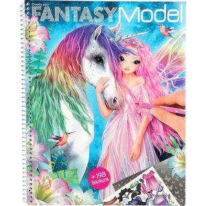 Carte de colorat Create your Fantasy Model Depesche PT10127 imagine