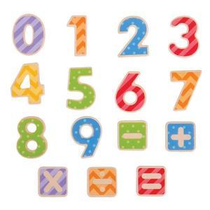 Cifre Magnetice Din Lemn imagine