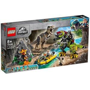 Lupta T. rex contra Dino-Mech (75938) imagine