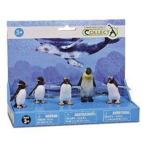 Set 5 figurine Pinguini - Collecta imagine