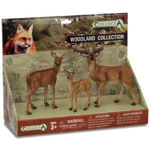 Set 3 figurine Animale din padure - Collecta imagine