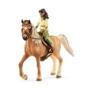 SCHLEICH Horse Club Sarah & Mystery imagine