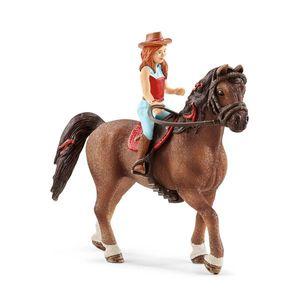 SCHLEICH Horse Club Hannah & Cayenne imagine