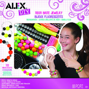 Bijuterii fluorescente, bratari, inele si coliere - AlexToys (AX1725-5) imagine