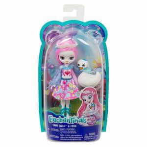 Papusa Mattel Enchantimals si prietenii ei, animalute imagine