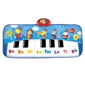 Covoras muzical pentru copii Winfun Fanfara cu animale tip pian cu 8 clape imagine