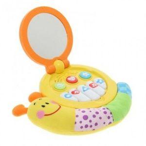 Jucarie muzicala bebelusi Winfun melc cu oglinda imagine