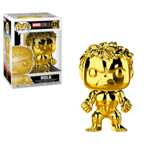 POP MARVEL: MARVEL STUDIOS 10 - HULK (CHROME) imagine
