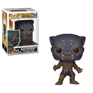 POP BOBBLE: MARVEL: BLACK PANTHER: BLACK PANTHER WARRIOR FALLS imagine