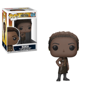 POP BOBBLE: MARVEL: BLACK PANTHER: NAKIA imagine